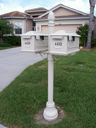 mailbox. Residential Decorative Mailbox