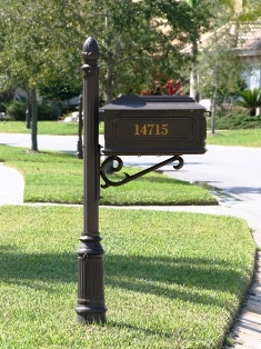 Custom Residential Mailboxes | House Mailboxes | Creative Mailbox ...