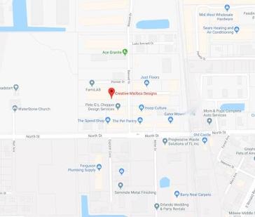 Orlando Mailbox Central Florida Mailboxes Orlando Custom Mailboxes Creative Mailbox Designs