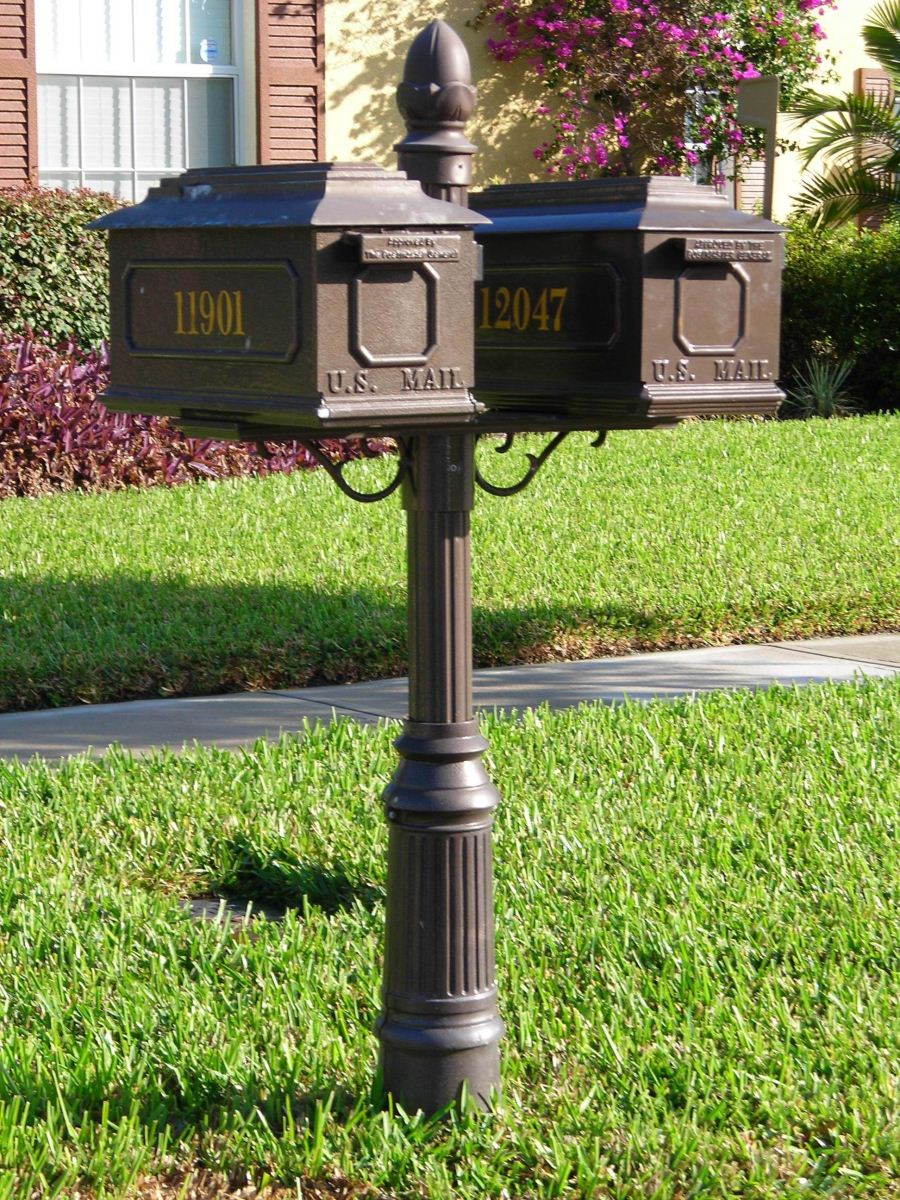 custom residential mailboxes - Decorative Mailboxes
